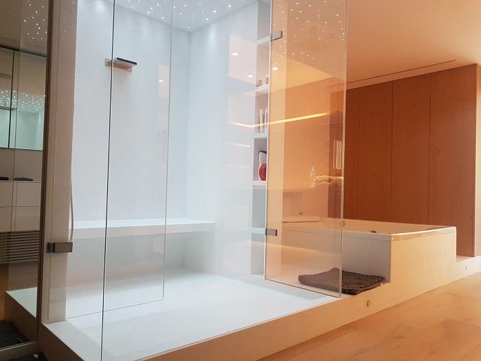 revestimiento de baños solid surface